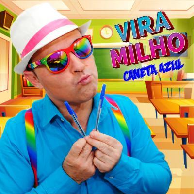 Vira Milho - Caneta azul