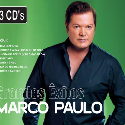 Marco Paulo - Grandes êxitos (Pack 3 cd)