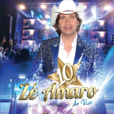 Zé Amaro - 10 Anos ao vivo (DVD)